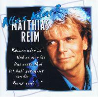Cover Matthias Reim - Alles klar? [2000]